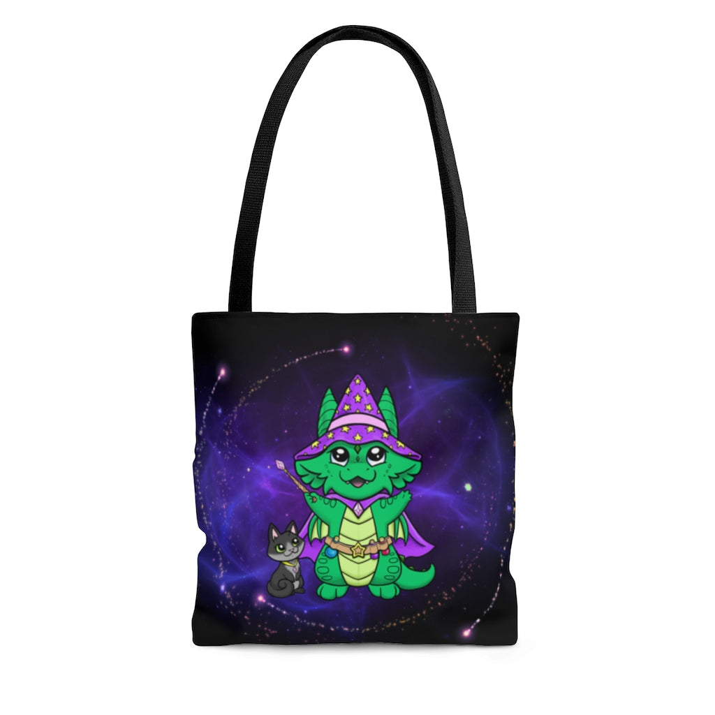 Magical Wizard Dragon Tote Bag (US ONLY)