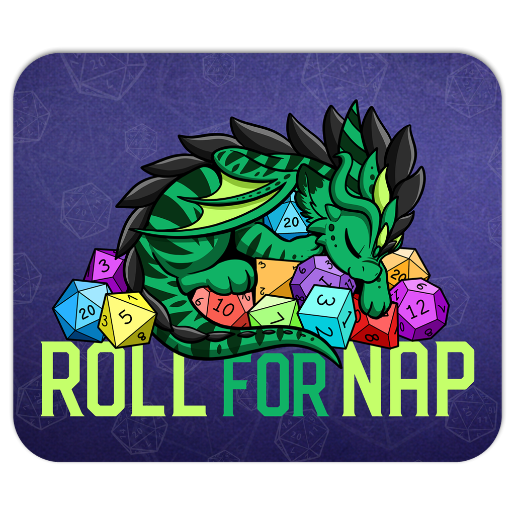Roll for Nap Pounce Mousepad (US ONLY)