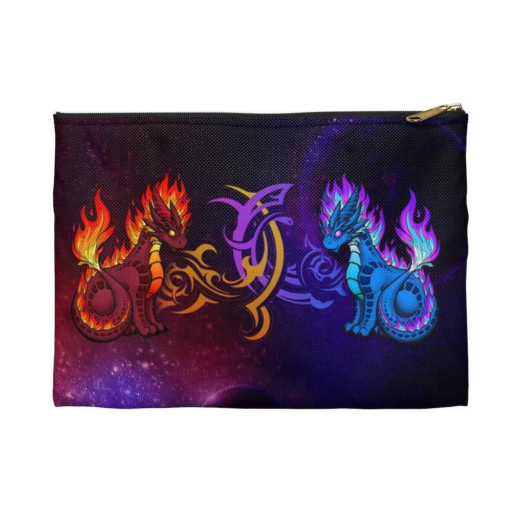 Fire and Arcane Elemental Dragons Pouch