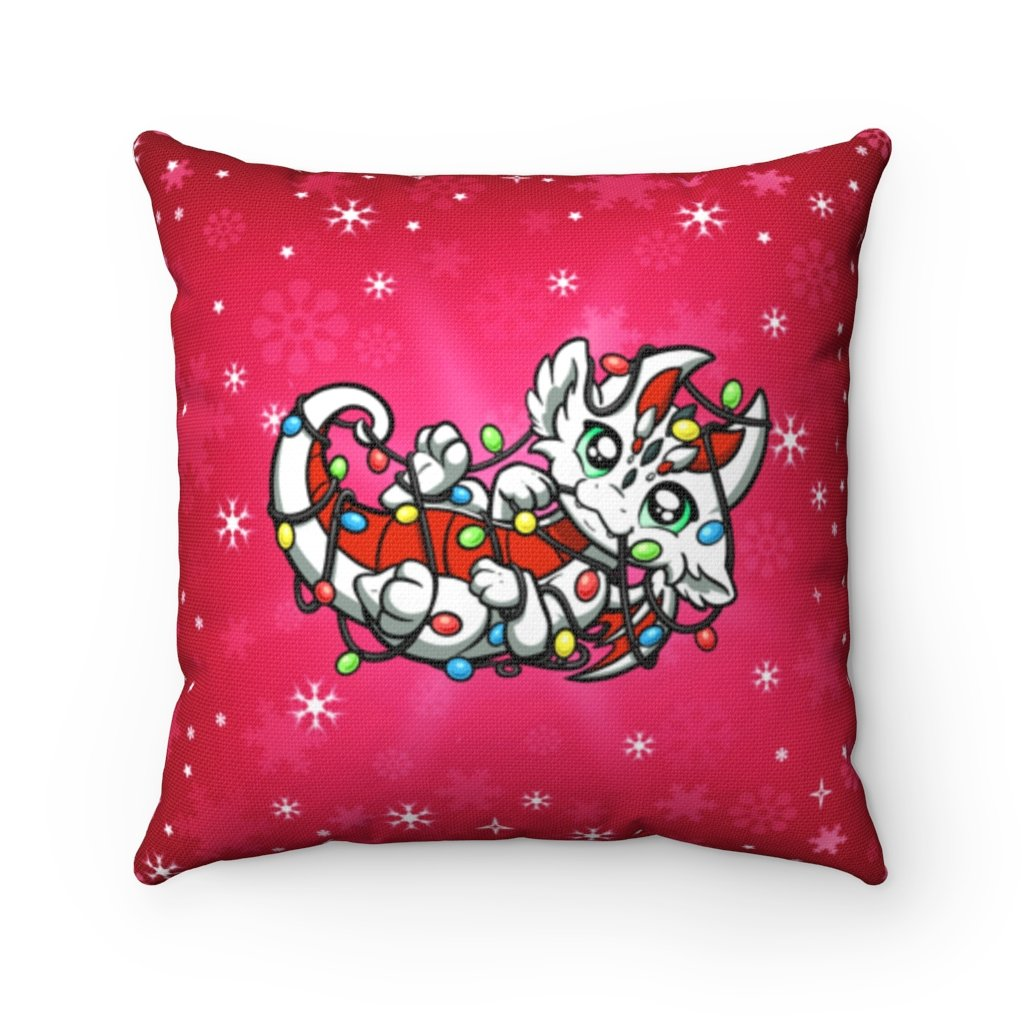 Tangled Lights Dragon Throw Pillow (US ONLY)