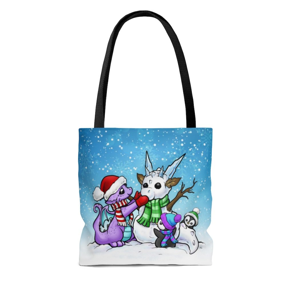 Snow Dragon Tote Bag (US ONLY)