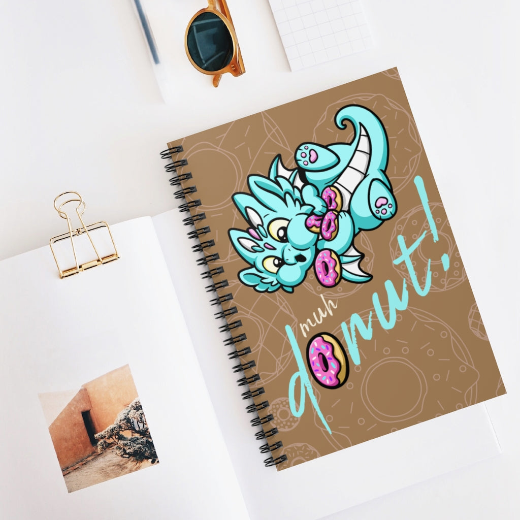 Sprinkle Donut Dragon Notebook (US ONLY)