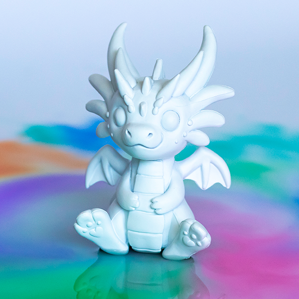 Deco Paint Your Own Mini Dragon