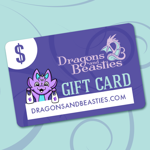 Dragons and Beasties Gift Card