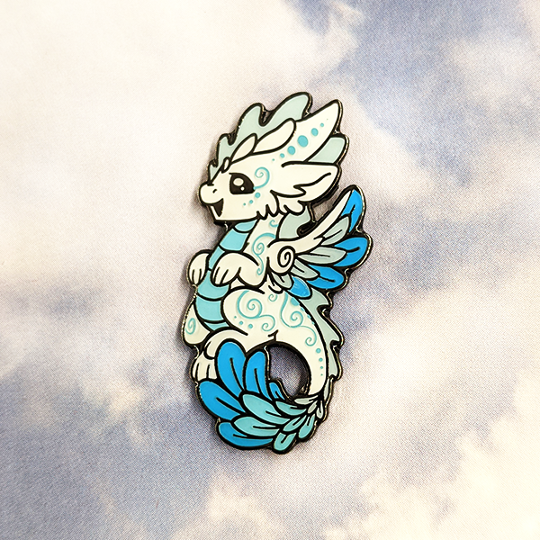 Swift Enamel Pin