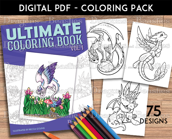 Ultimate Coloring Pack Volume 1 (Downloadable)