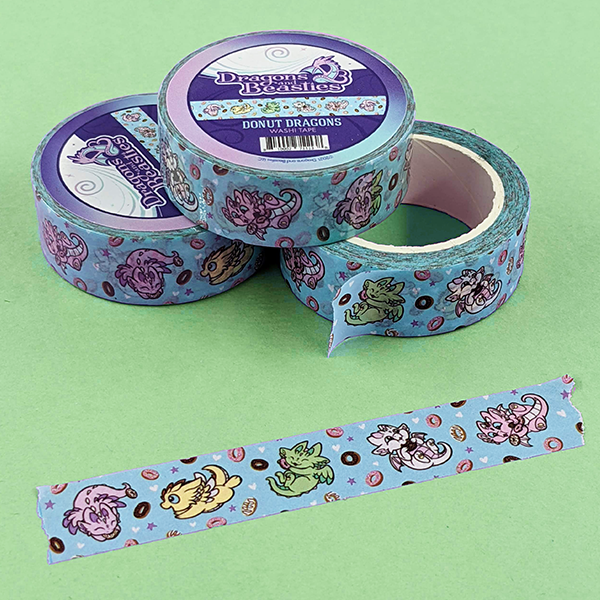 Donut Dragons Washi Tape