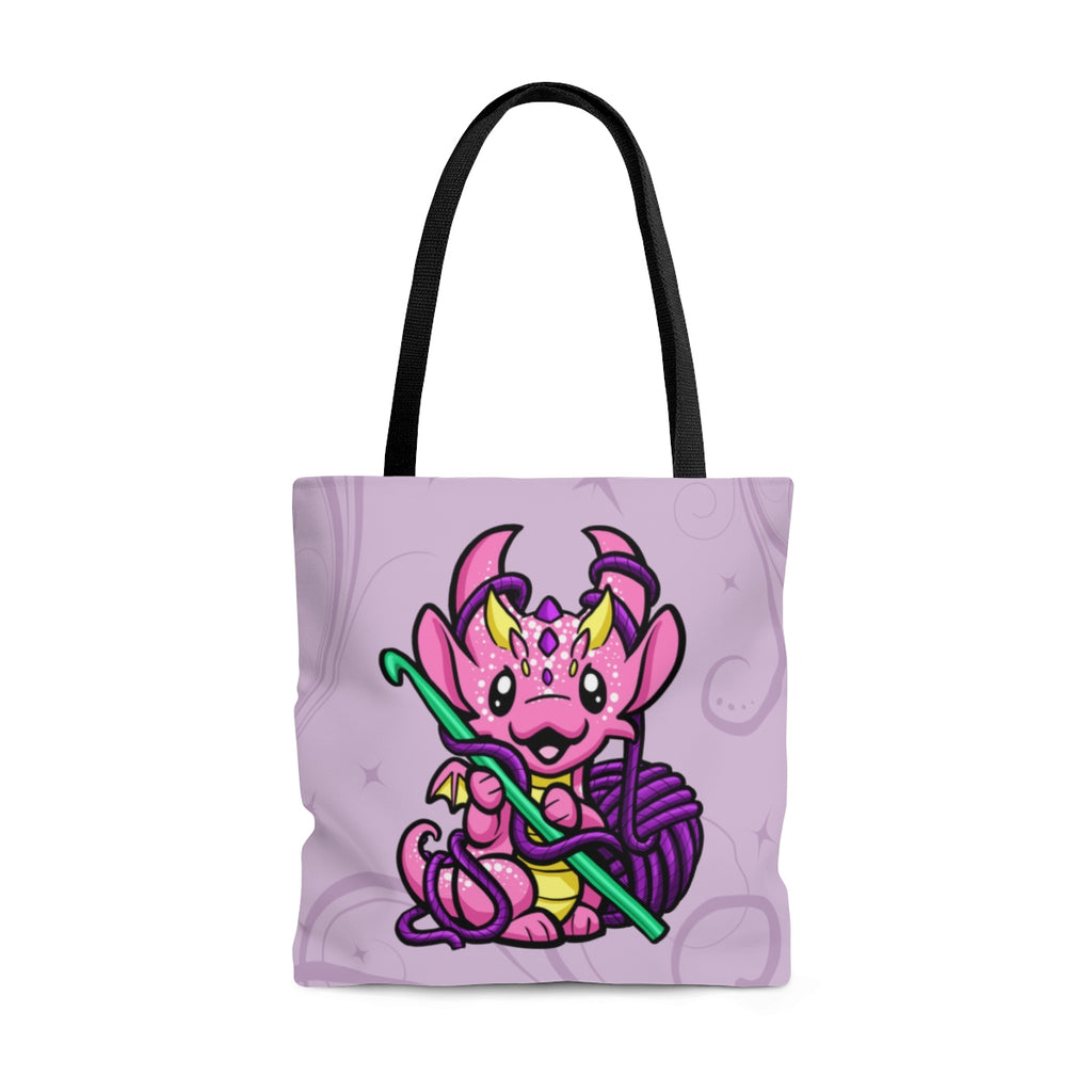 Crochet Dragon Tote Bag (US Only)