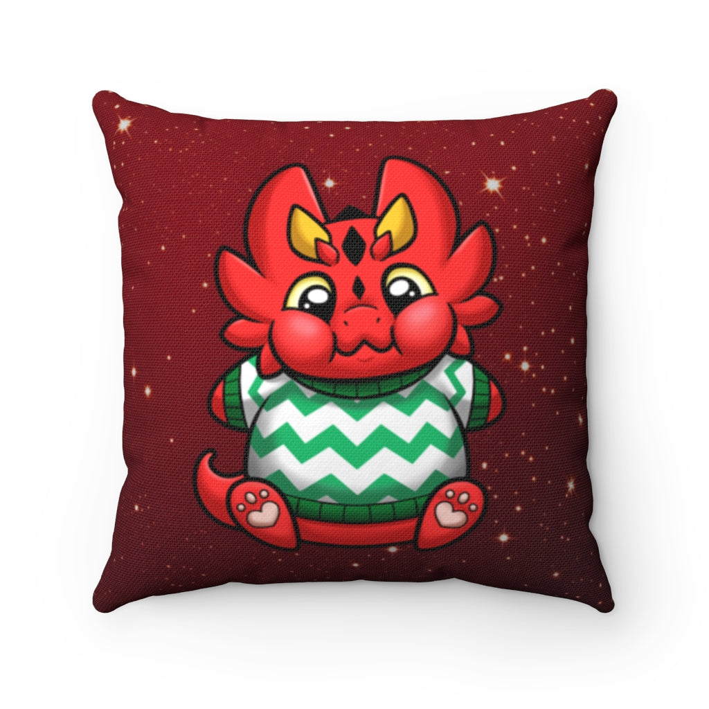 Chester Holiday Throw Pillow (US ONLY)