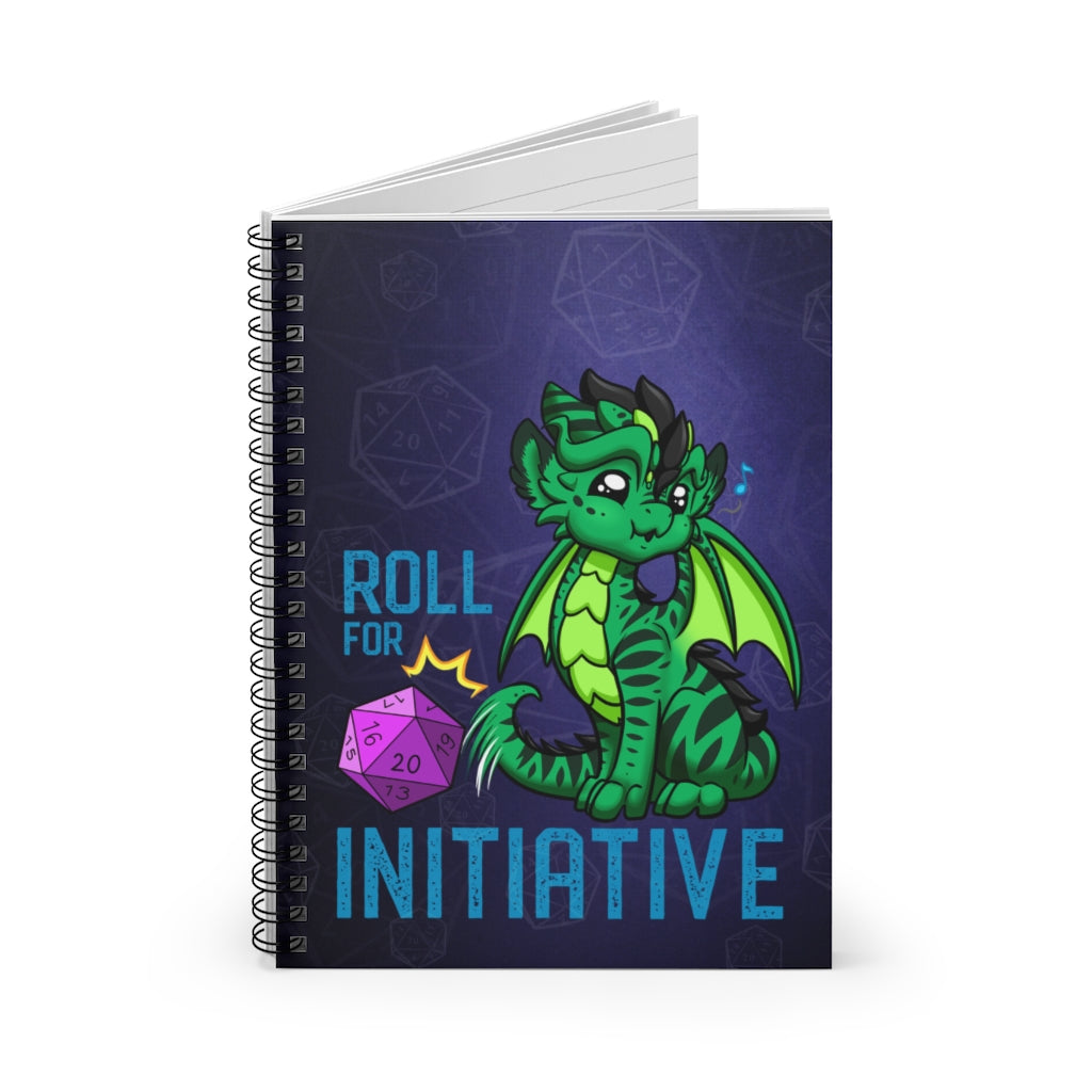 Pounce Roll for Initiative Notebook (US Only)