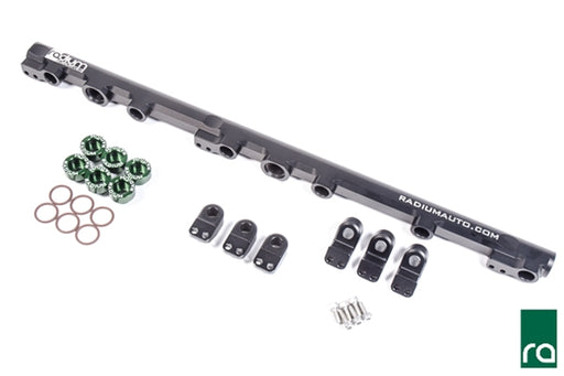 Radium Toyota 1JZ-GTE (Non VVT-i) Fuel Rail, Top Feed Conversion (20-0235)