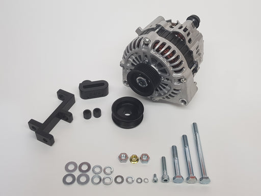 Platinum Racing Products SR20 CWC Billet Alternator Bracket Kit