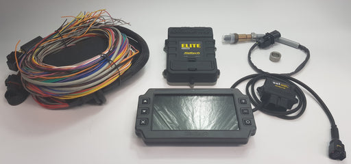 Haltech Elite ECU + IC-7 Dash + Optional Wideband Kit Bundle
