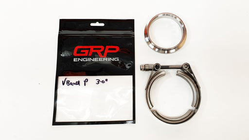 GRP Engineering Vband and Clamp set outlet Precision Turbo vband in/out