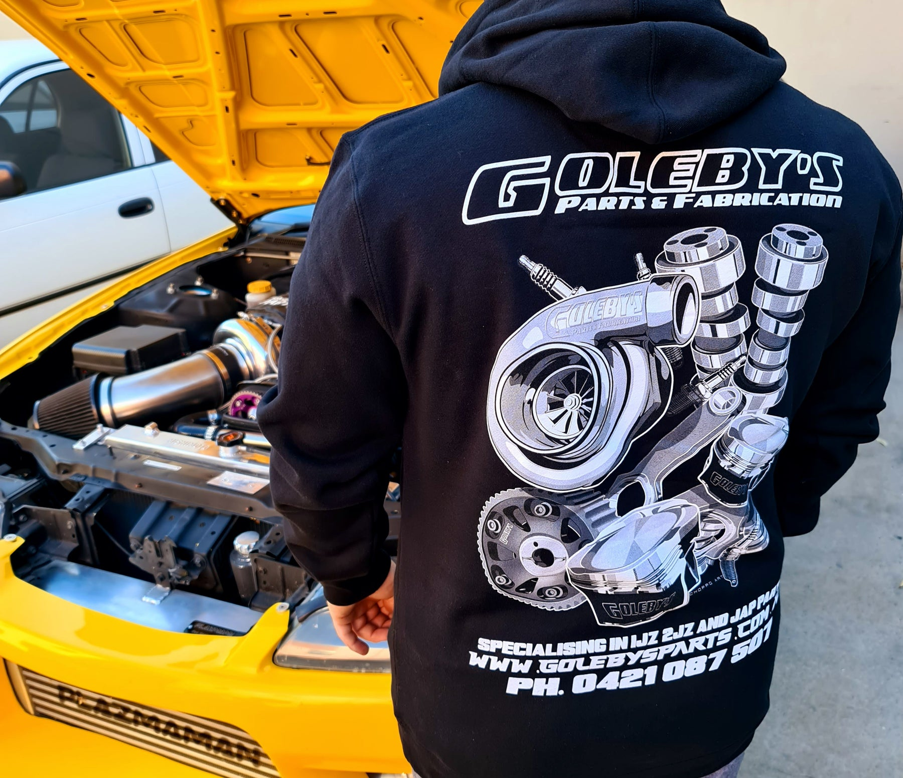 Goleby's Parts Hoodie
