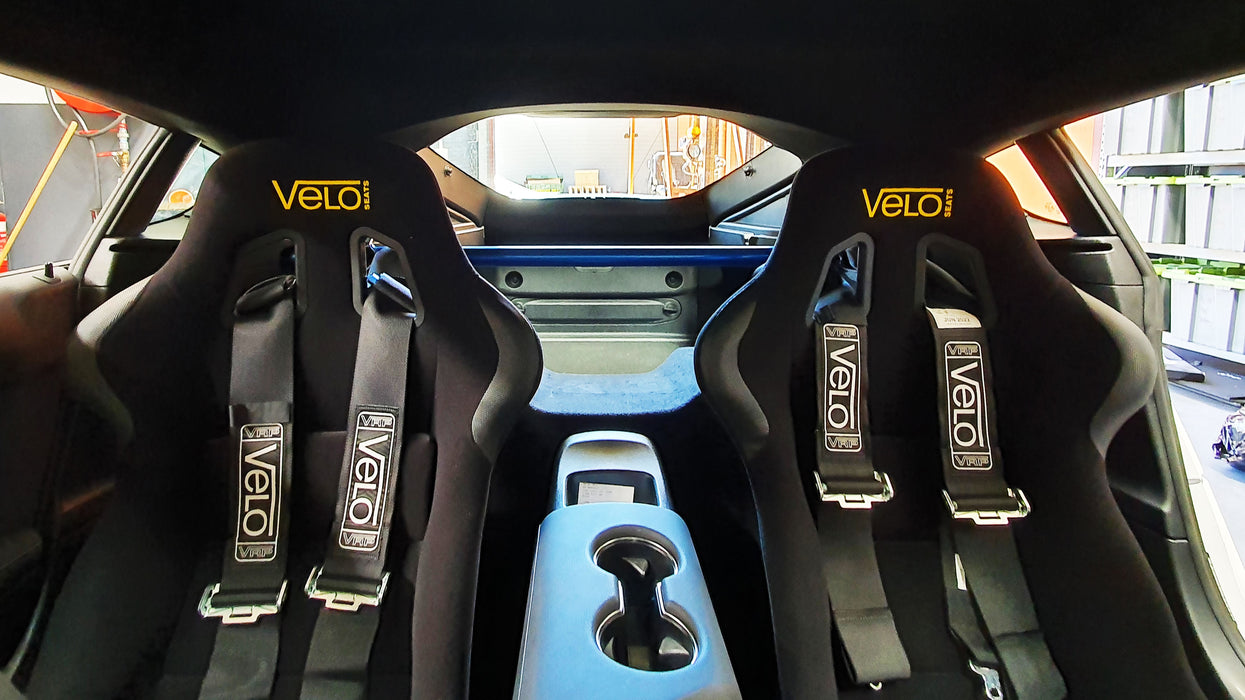 GRP Engineering Velo Seat Kit to suit Toyota Supra A90 inc Cusco Rear Trunk Power Brace