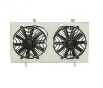 MISHIMOTO NISSAN 180SX S13 PERFORMANCE ALUMINIUM FAN SHROUD KIT, 1989-1994 SR20 ENGINE MMFS-S13-89SR