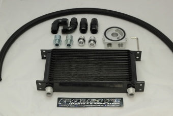 Billet Oil cooler kit 3/4 16 thread