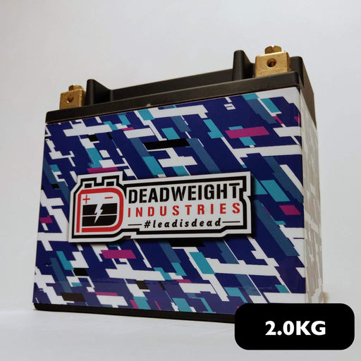 Deadweight Touge 200 - 500CCA 30ah Lightweight Lithium Iron Phosphate (LiFePO4) Battery