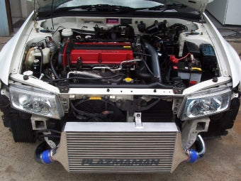 Evo 4-6 RACE SPEC Swept Back Intercooler Kit