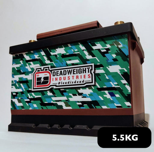 Deadweight Touge MAX - 950CCA 120ah Lightweight Lithium Iron Phosphate (LiFePO4) Battery