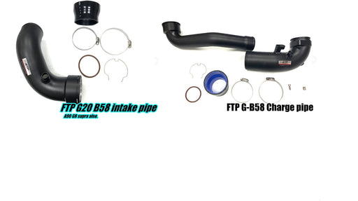FTP Motorsport Intake piping + Charge Piping Kit suits MKV A90 Toyota Supra