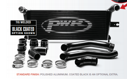 PWR Holden Colorado RG 2.8L 2014-onwards 55mm Intercooler & Pipe Kit