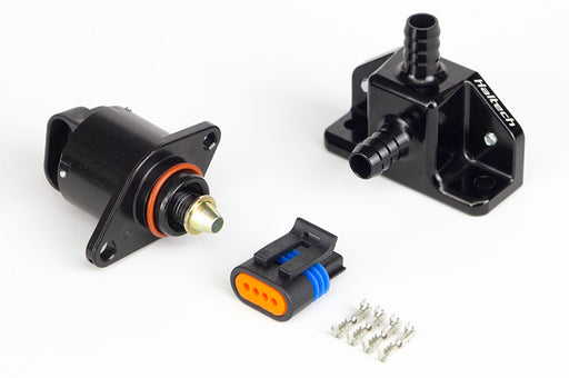 Haltech HT-020305 Idle Air Control Kit - Billet 2 Port Housing With 2 Screw Style Motor