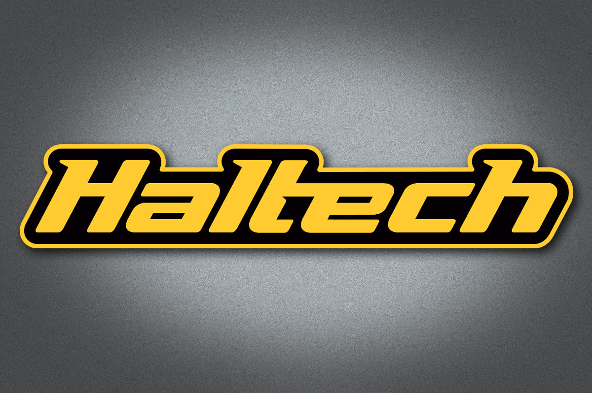 Haltech Logo Colour Sticker