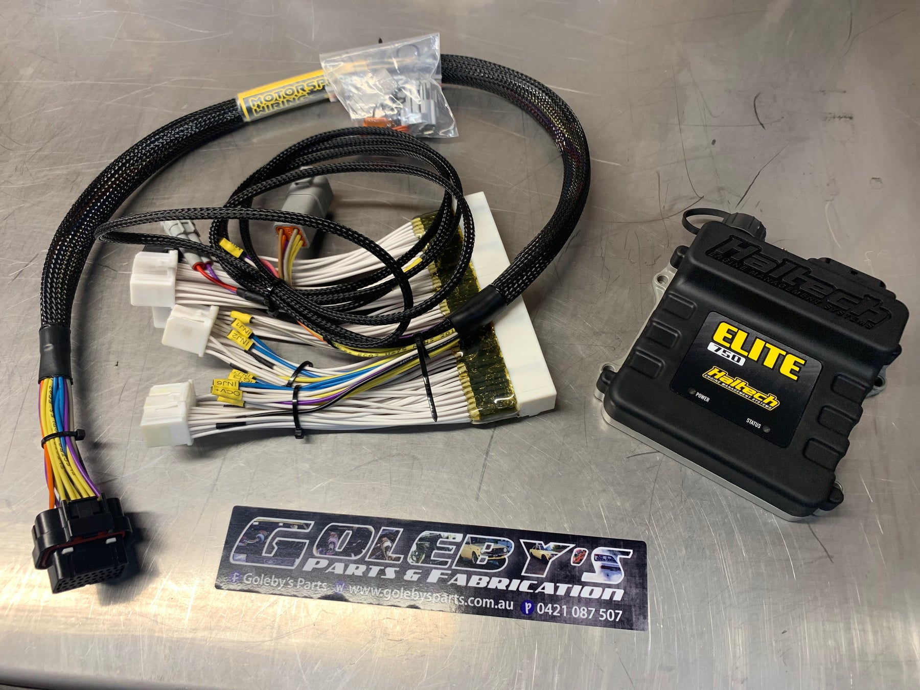 Haltech Elite 750 ECU with Patch Loom to suit Toyota JZX110