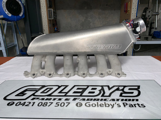 Goleby's Parts 2JZ Sheet Aluminum Intake manifold (exchange)