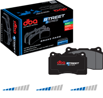 DB1395SS DBA Toyota Crown JZS171 Street Series Front Brake Pads