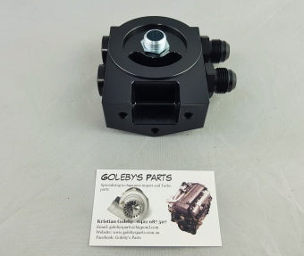 Oil filter mount block 3/4 16 thread (SF00101-01S)