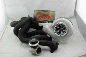 Turbo kit EA-AU SOHC Precision 6262, 6Boost turbo manifold, TURBOSMART 50MM GENV wastegate