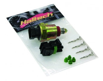 HALTECH HT-020302 Idle Air Control Motor - Screw-in -inc plug and pins