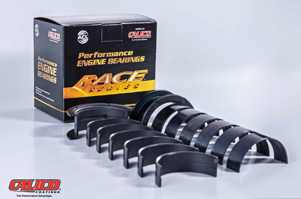 ACL Ford Falcon BA/BF/FG Barra Race Series Calico Coated Main Bearings inc 360 Degree Thrust (7M2094HC)