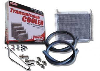 PWR VZ V6 & V8 Commodore Transmission Cooler Kit inc Brackets PWO6690