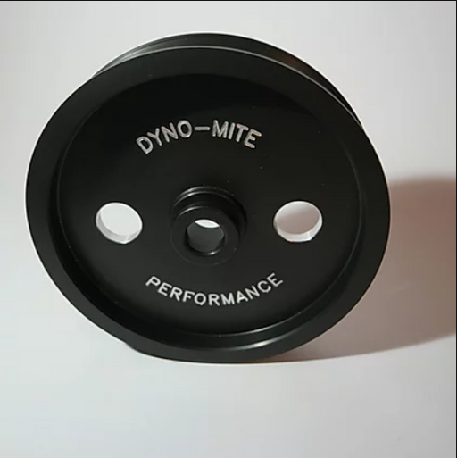 Dyno-Mite Performance BA-FGX Billet Power Steering Pulley 20% Underdriven