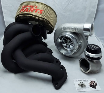 Turbo Kit RB30 Garrett GTX3582R Gen 2 ball bearing, 6Boost Turbo manifold, TURBOSMART 50MM GENV wastegate