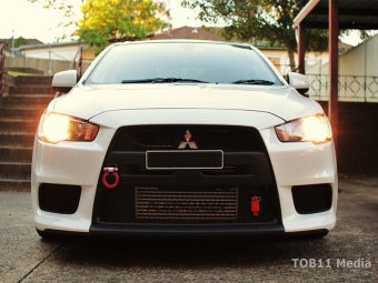 Evo 10 - 100mm RACE Series Intercooler 1600hp