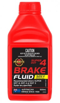SUPER DOT 4 BRAKE FLUID 500mL