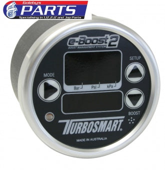Turbosmart eBoost2 66mm Black Silver TS-0301-1013
