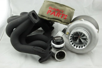 Turbo kit 1jzgte non vvti Precision 6466 Gen2, 6Boost turbo manifold, TURBOSMART 50MM GENV wastegate
