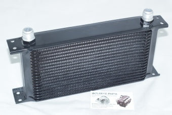 19 row Mocal style external oil cooler