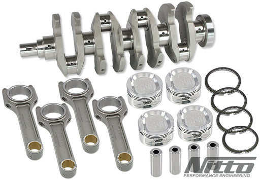Nitto 4G63 2.2L Stroker Kit H-Beam Rods