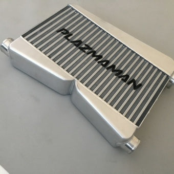 285x550x100 Mustang Twin Entry Intercooler