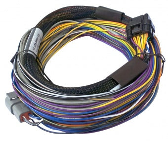 HT-140602 Elite 750 - 2.5m (8 ft) Basic Universal Wire-in Harness Only (no relays or fuses)