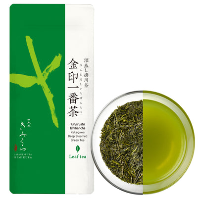Kinjirushi Ichibancha -Deep Steamed Green tea