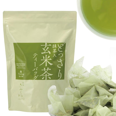 Matcha Genmaicha -Value Pack 100 Teabags