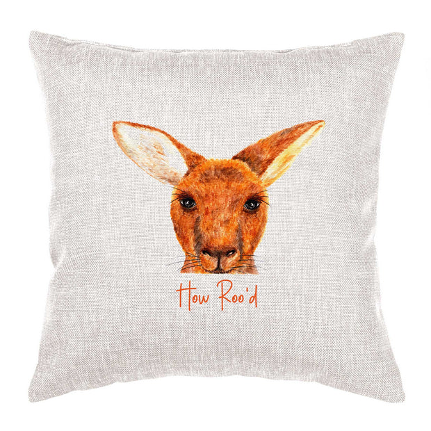 Kangaroo Cushion - How Roo'd